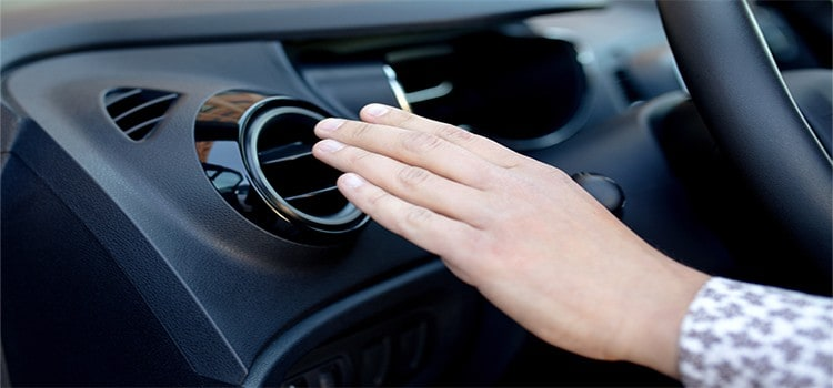 car ac blowing warm air intermittently- image