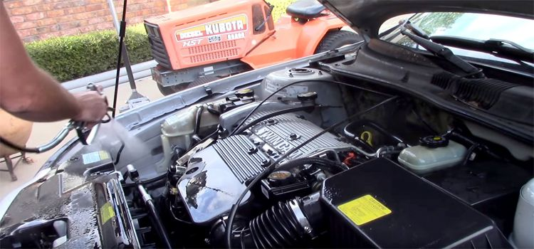 how to clean under the hood